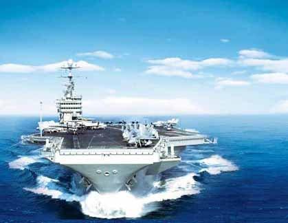 5万吨航母奶妈年内服役 补齐航母编队最后拼图