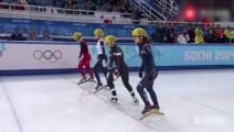 重温经典之2014年索契冬奥会 短道速滑 女子500米 冠军李坚柔