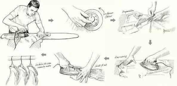 护士技能海报素材手绘