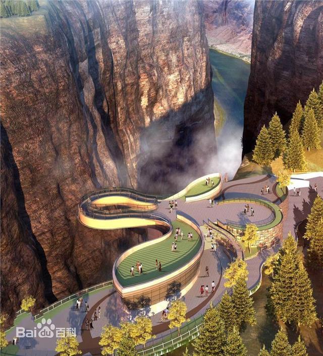 乡境内,面积300余平方公里,属国家aaaa级旅游景区,地质公园类自然风景