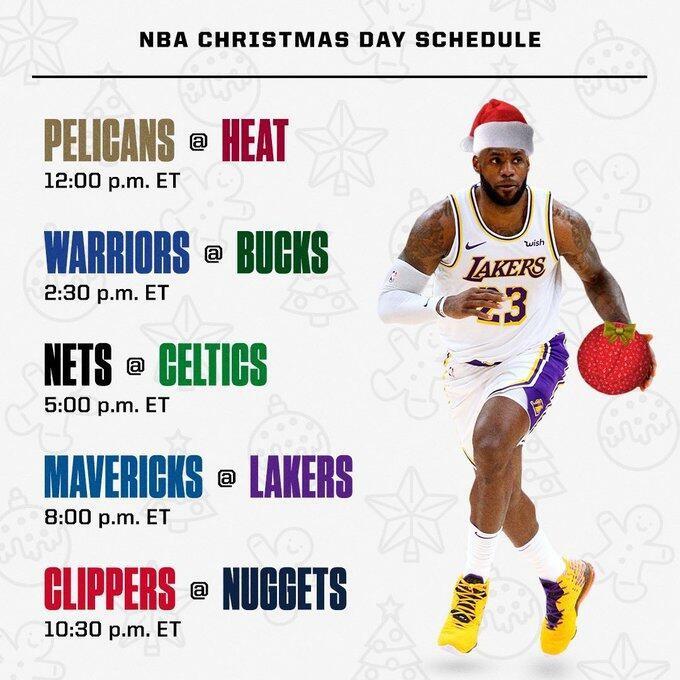 在此之前提前公布圣诞大战赛程,圣诞大战正是雪耻的好机会