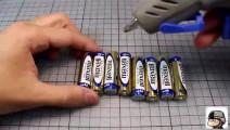 10000流明 5号电池驱动100W大功率手电制作DIY强光