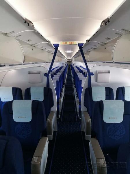 东航山东再添新丁 喜迎a321飞机
