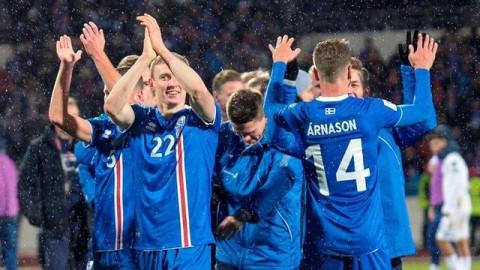 2018年俄罗斯世界杯上,我们将看到冰岛国家队的身影,欣赏到令人热血