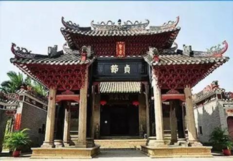 广东鹤山寺