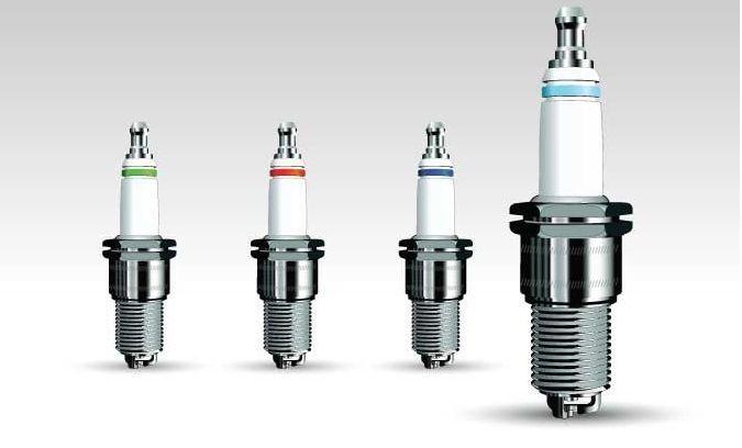 汽油机点火系统中将高压电流引入气缸产生电火花,以点燃可燃混合气体
