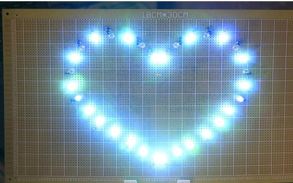 打开 打开 用arduino创作的三色led心形流水灯 打开 遮罩层 台湾媒体