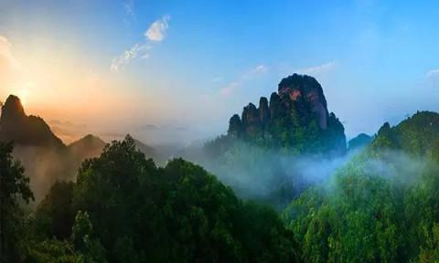 七彩户外[国庆]-梅州平远天道: 挑战五指石玻璃栈道.观世界大卧佛