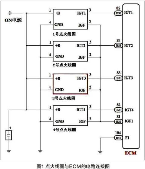 [案例]2013款丰田卡罗拉发动机故障灯常亮