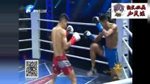 泰国拳手扬言要再次KO中国拳手上场却被吊打KO口吐鲜血