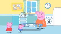 小猪佩奇 联欢会派对时间 佩奇写给朋友们的信
