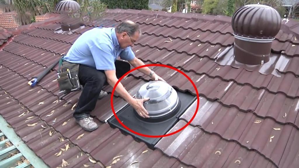 再也不用交电费了!在屋顶装上它,连电灯泡都不用了