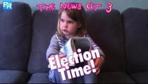 3岁小萝莉神吐槽2017! 今天一早大选开始投票啦!这位来自苏格兰的3岁小萝莉,操着一口放飞自我的蜜汁苏格兰口音,几乎把全部英国党派都给怼了个遍