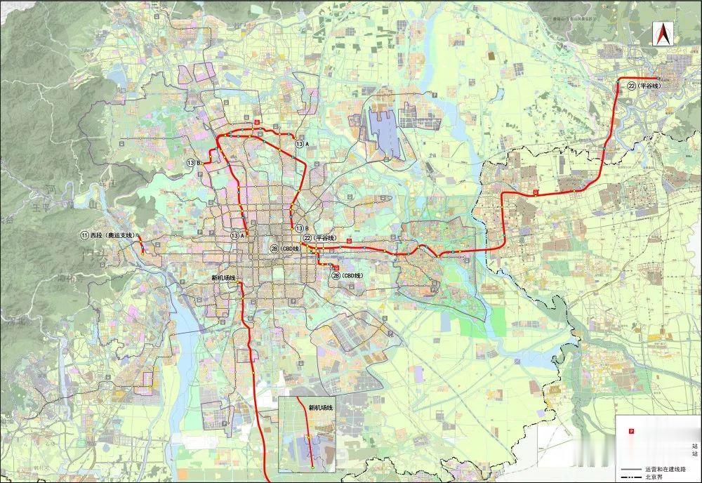 北京地铁规划调整: 涉及5条线路, 13号线分拆成两条