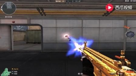 穿越火线: 黄金Scar皮肤介绍, 黄金打造的稀有武器!