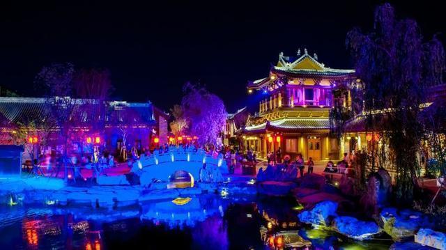 洛阳文峰塔夜景