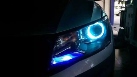 攀枝花卓越汽车照明, 出租车大众捷达升级nttk超级套装!