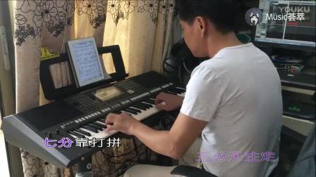 牛人用电子琴演奏一首《爱拼才会赢》非常好听, 百听不厌!