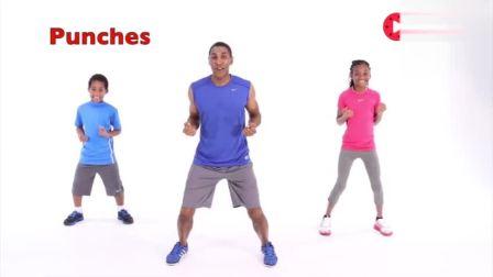 家庭有氧健身操,动作慢易学,带着家人一起健身