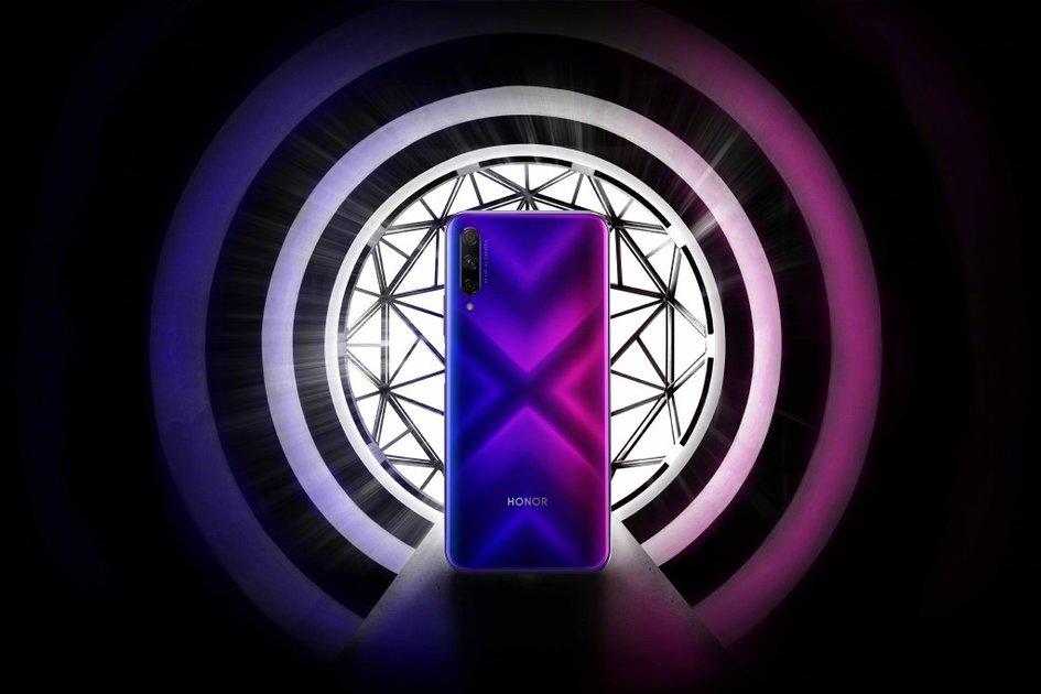 荣耀 9X 背面设计首秀: 电感 X 纹理渐变 + 后置三摄(图1)