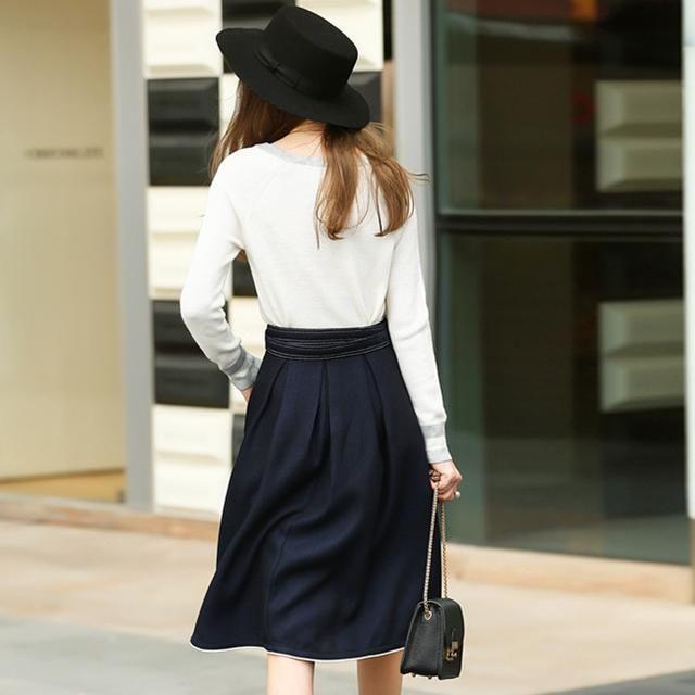 好看的半身裙_风和日丽的艳阳天, 一条美丽的半身裙, 穿出女人的万种风情