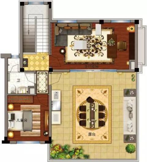 90平米套房设计图纸展示