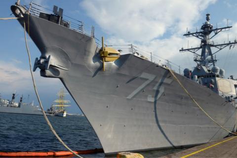 美驱逐舰驶入黑海 俄议员警告: 远离我们的海岸线