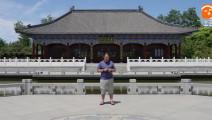 台语歌曲《爱拼才会赢》朱坤 城阳国学公园演唱
