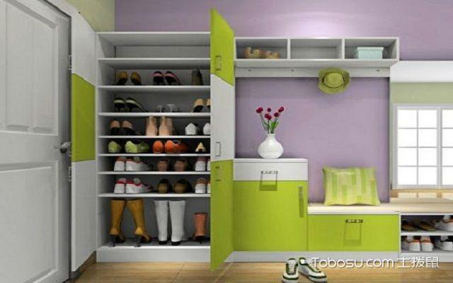 一进门鞋柜装修效果图, 教你装饰精致鞋柜!