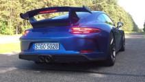 带劲儿!实拍保时捷911 GT3加速测试,这才是激情时刻