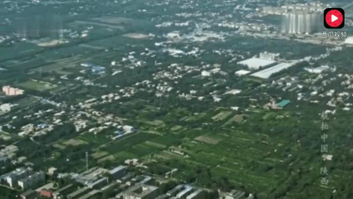 航拍陕西西安87米高秦始皇陵墓总面积相当于63个北京故宫