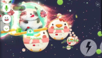 球球大作战炫星: 最后几秒在熊猫情侣中插一脚全收贼