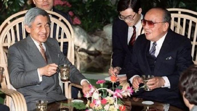 要求撤掉宴会上一道菜, 被中方严肃拒绝 日本天皇首次访华,