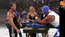 """WWE """"美国队长""""胡克霍根挑战老板文斯,两人谁也不服谁啊"""