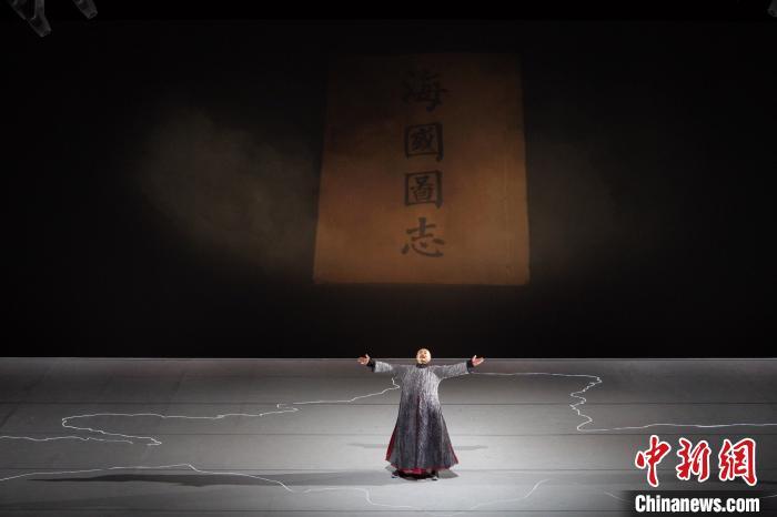 原创话剧《林则徐》首演 濮存昕再塑经典人物