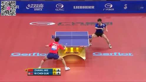 2011鹿特丹世锦赛16强——张继科VS李哲国比赛集锦!