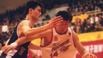 王治郅与姚明的巅峰对决,最后一对以中国人为主cba球队的争锋