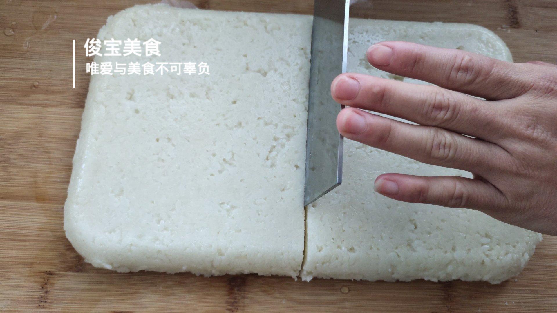 纯手工糍粑制作教程, 做法简单易上手, 香酥软糯有嚼劲