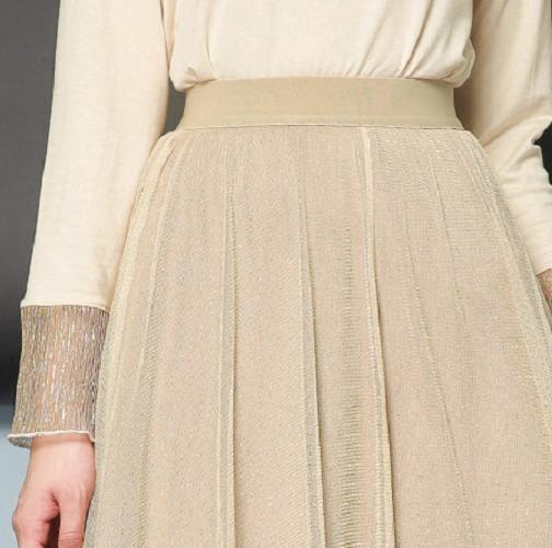 半身裙设计_设计感极强的半身裙, 三层网纱加内衬, 清凉舒爽显气场强大