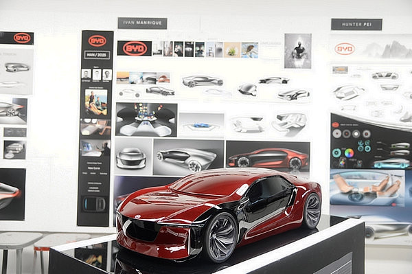 汽车设计大师艾格给顶级设计学院布置作业