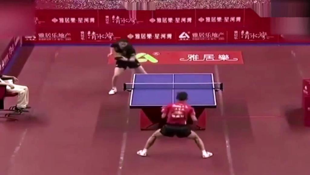 乒乓球史上的搞笑瞬间,太逗了!原来你是这样的张继科?