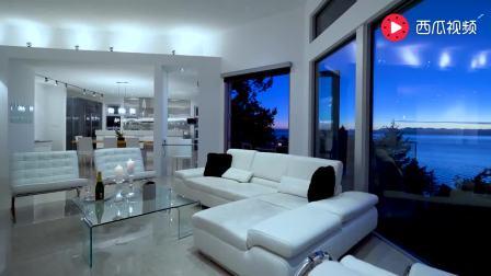 在这里与你共看海边落日 温哥华海景豪宅