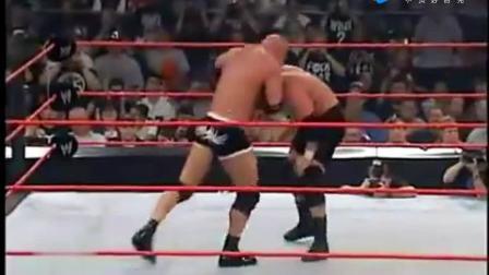 赢不了就走人 WWE战神高柏孤注一掷力战HHH