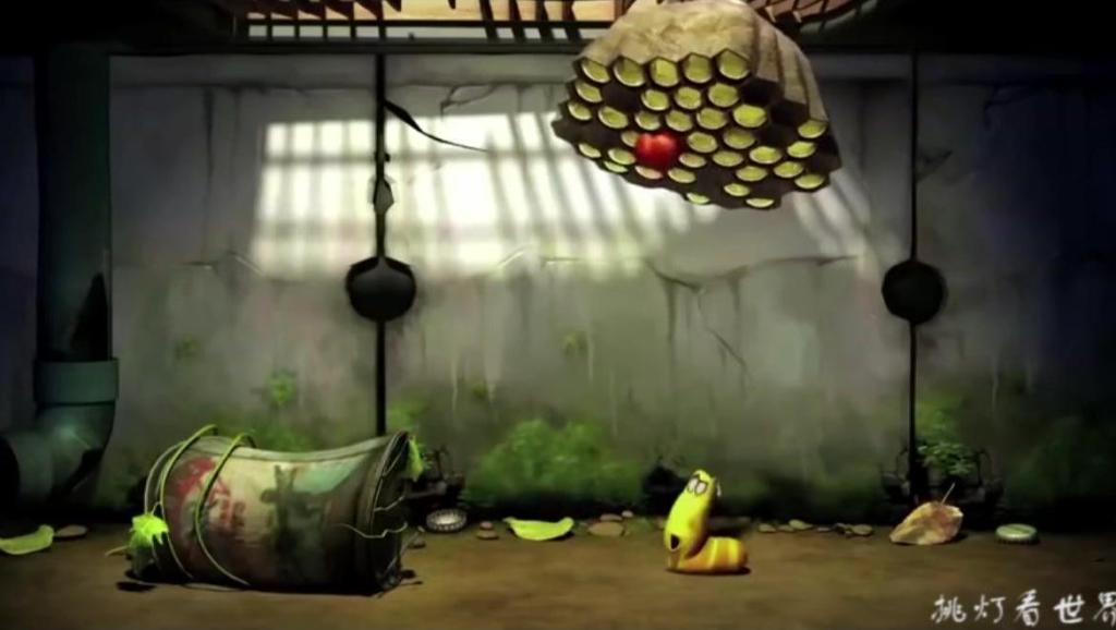 爆笑虫子: 俩虫子不劳而获,困住蜜蜂偷吃蜂蜜,被蛰成胖虫子!