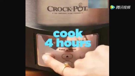 充满家的温暖的味道 慢锅奶油炖红薯
