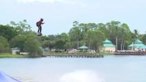 喷气式水上高空滑行