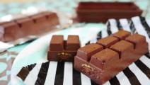 巧克力牛奶热得冒泡,厚重厚重的巧克力吃货实在没法忍受