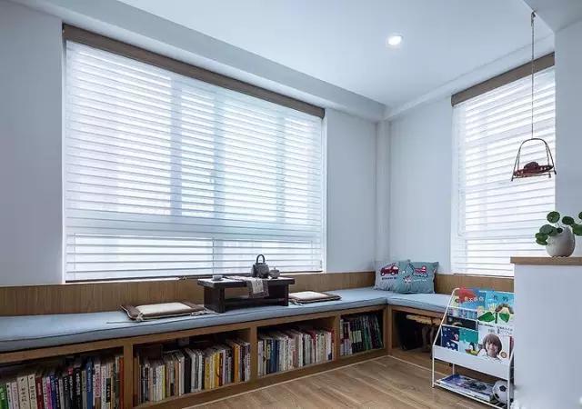 室一厅, 客厅阳台改成了榻榻米休闲区