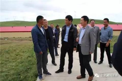 山东聊城东昌府区对口援建单位赴沙柳河镇交流考察