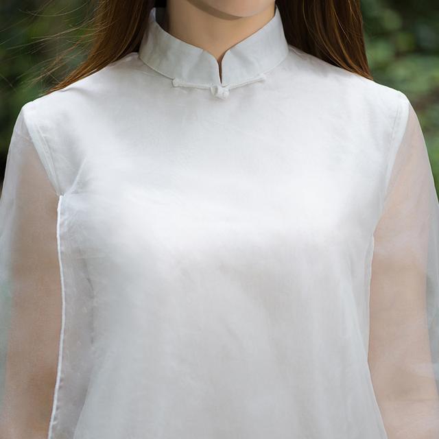 """姑娘不要穿韩版了, """"改良汉服""""才是17年的流行趋势, 优雅大方 18"""